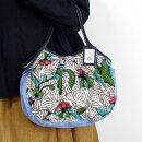 【メール便可】sisiグラニーバッグ定番サイズバティックマドゥラDろうけつ染めsisiバッグ布バッグショルダーバッグ