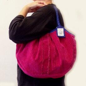 sisiグラニーバッグ 定番サイズ ソファー フリンジ レッド sisiバッグ 布バッグ ショルダーバッグ