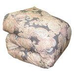 西川羽毛掛け布団シングルロング150×210cmホワイトダックダウン90%羽毛掛けふとん