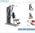 TORUS4ホームジムホライズンフィットネスジョンソンヘルステックジャパントーラス4トーラスフォーHOMEGYMパーソナルジムホライゾンフィットネスHORIZONFITNESSjohnsonHealthTechJapanポイント15倍トレーニングマシン自宅筋肉トレーニング筋トレ