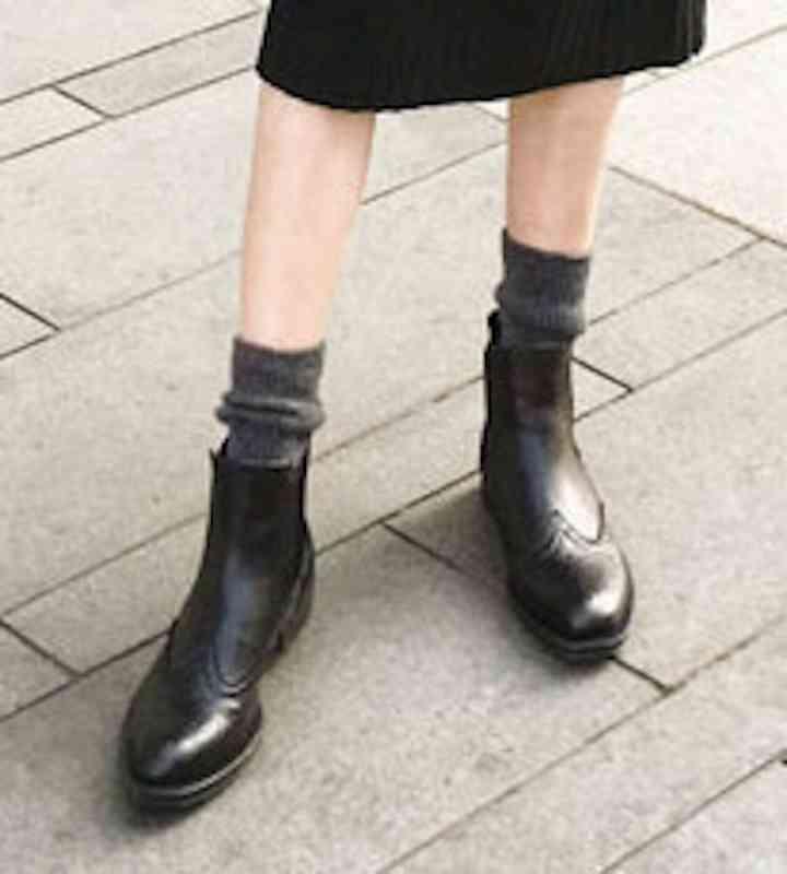 ウォーキングシューズ 革靴 カジュアル 軽量 ブーツ レディース レザー 春 夏 秋 冬 歩きやすい 軽い 黒 スニーカー e cm shs-1129 【予約商品】