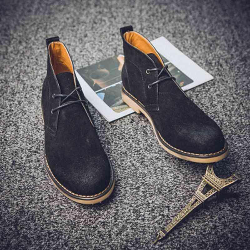ウォーキングシューズ 革靴 軽量 メンズ ブーツ レザーシューズ 春 夏 秋 冬 ビジネス 軽い 黒 スニーカー e cm shs-349 【予約商品】