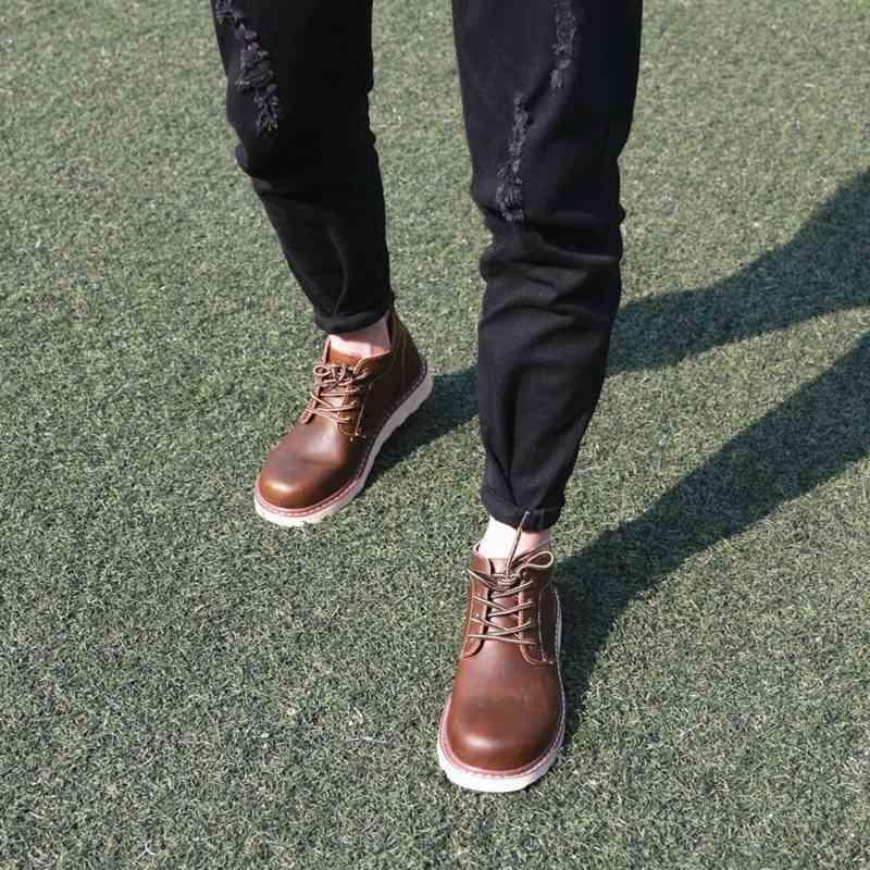 ウォーキングシューズ ブーツ 本革靴 メンズ レザーシューズ 軽量 春 夏 秋 冬 ビジネス 軽い 黒 スニーカー e cm shs-377 【予約商品】