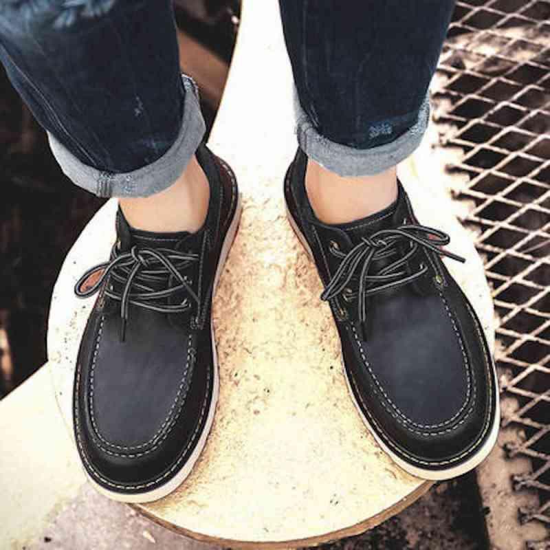 ウォーキングシューズ 革靴 軽量 メンズ ブーツ レザーシューズ 春 夏 秋 冬 ビジネス 軽い 黒 スニーカー e cm shs-800 【予約商品】