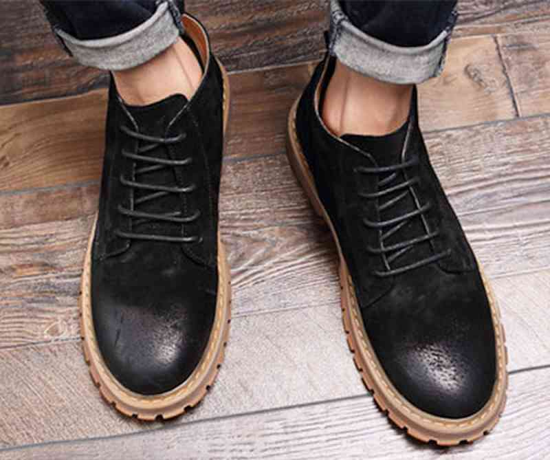 ウォーキングシューズ ブーツ メンズ レザーシューズ 革靴 軽量 春 夏 秋 冬 ビジネス 軽い 黒 スニーカー e cm shs-912 【予約商品】