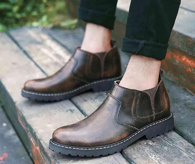 ウォーキングシューズ 革靴 軽量 メンズ ブーツ レザーシューズ 春 夏 秋 冬 ビジネス 軽い 黒 スニーカー e cm shs-913 【予約商品】