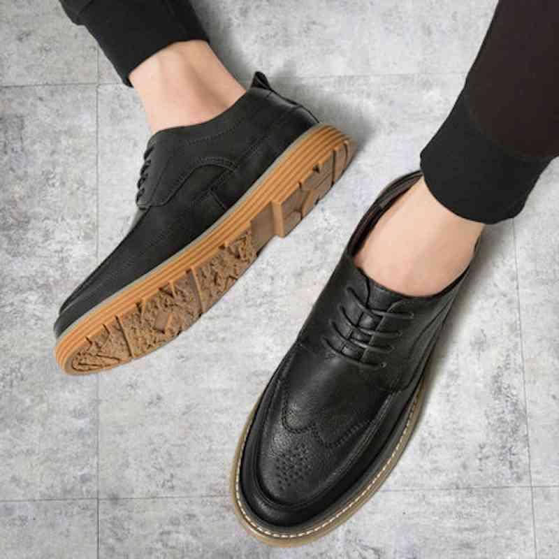 ウォーキングシューズ ブーツ メンズ 黒 e 革靴 スニーカー 冬 秋 春 夏 軽い ビジネス 軽量 レザーシューズ cm 予約商品