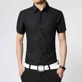 シャツ メンズ 半袖 大きいサイズ おしゃれ 七分袖 カジュアル カジュアルシャツ 白 アメカジ ボタン 夏 黒 ファッション お洒落 40代 夏服 カジュアル 20代 大人 かっこいい 30代 50代 オフィス ブランド セール