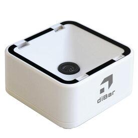 eチケットリーダー eTicketS-USB 小型二次元バーコードリーダー QRコード スマホ液晶対応 ウェルコムデザイン diBar