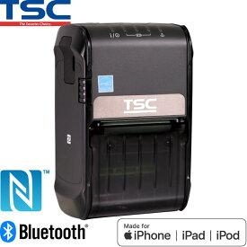 サーマルモバイルラベルプリンター Alpha-2R NFC対応 Bluetooth USB接続 MFi認証モデル TSC ウェルコムデザイン
