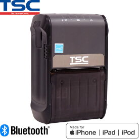 サーマルモバイルラベルプリンター Alpha-2R Bluetooth USB接続 MFi認証モデル TSC ウェルコムデザイン