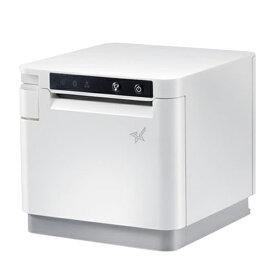 スター精密 サーマルプリンター mC-Print3 1年保証 58mm 80mm幅 Bluetooth レシートプリンター ACアダプター付 MCP31LB-WT-JP