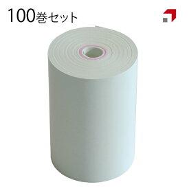 【100巻】 感熱レシートロール紙 幅58mm×直径40mm 8mmコアレス オーダーエントリー SUNMI