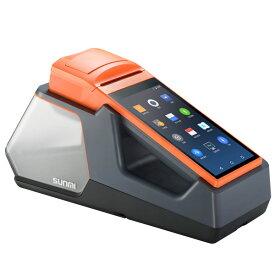 SUNMI V1s プリンター搭載Androidハンディターミナル スタンドセット バーコード業務アプリ搭載 1年保証 感熱紙レシート