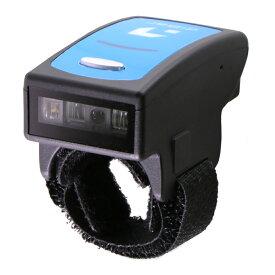 ウェアラブルバーコードリーダー ringJAN 黒 microUSBマグネットコネクタセット 1年保証 Bluetooth バーコードスキャナー diBar