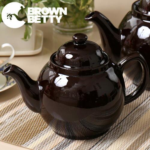 Brown Betty ティーポット 500ml 英国製 ブラウン ベティ ネイビー コバルト 2カップ 陶器 イギリス製 ボックス付き 茶色 紺色 無地 プレーン 紅茶 ブランド 結婚祝い プレゼント ギフト 新生活 新居 引越し祝い 新築 茶色