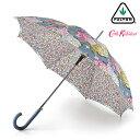 キャスキッドソン 傘 ハイドランジア FULTON × Cath Kidston フルトン 花柄 フラワー レディース Bloomsbury 長傘 女…