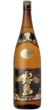 【霧島酒造】 芋焼酎 黒霧島 25°1800ml瓶 (福)