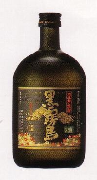 【霧島酒造】 芋焼酎 黒霧島 25°720ml 瓶 (福)