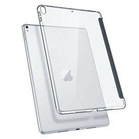 ESR iPad Pro 10.5ケース クリア バックカバー 軽量 スマートキーボード対応 スリム ハード PC キズ防止 指紋防止 iPad Pro 10.5 2017年最新版専用ケース(クリア)