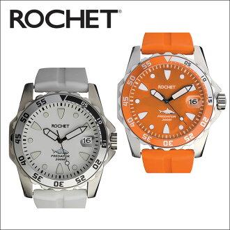 如羅切特羅氏潛水儀器捕食者手錶手錶 20 壓力防水潛水腕表法國品牌運動模型時尚精選母親一天的禮物禮物包裝流行 02P23Aug15