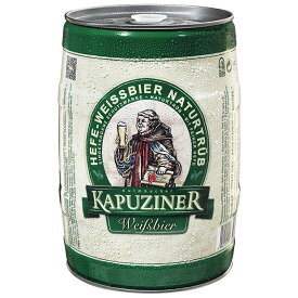 カプツィーナ ヴァイツェン 5L 缶   ドイツビール ドイツ 樽 ビア樽 ビアサーバー ビール ビア 輸入 ビール 大容量 本場の味 グルメ プレミアム 海外 第三 新ジャンル 酒 プレゼント ギフト 誕生日 人気 アウトドア キャンプ パーティー イベント beer
