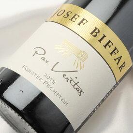 ヨーゼフ ビファー フォルスター ペヒシュタイン リースリング トロッケン 2013 750ml 白ワイン 辛口   ドイツワイン ドイツ ファルツ 日本人 醸造家 ワイン 白 ドライ ギフト プレゼント 誕生日 ホワイト 人気 オススメ 年末