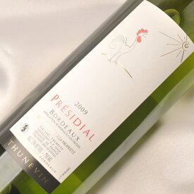 テュヌヴァン セレクション プレジディアル チュヌヴァン 白(鳥ラベル) 750ml フランス AOCボルドー 白 辛口 PRESIDIAL THUNEVIN BIRD LABEL BLANC 白 ワイン WINE 葡萄酒