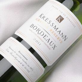 白ワイン[クレスマン ボルドー ブラン 750ml KRESSMANN BORDEAUX BLANC]フランス AOCボルドー 白 辛口 ワイン WINE 葡萄酒