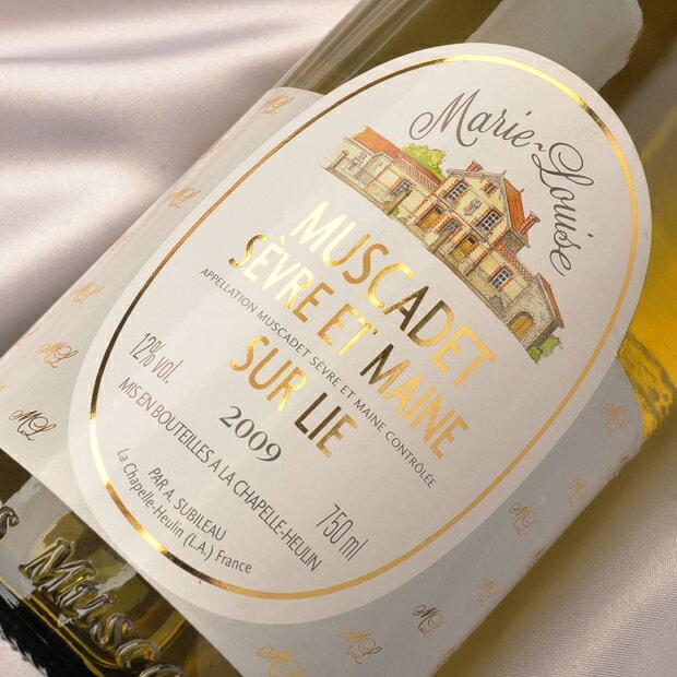 白ワイン ミュスカデ マリー ルイーズ ミュスカデ セーヴル エ メーヌ シュルリー AOC(地区)フランス ミュスカデ 白辛口 [W] /白 ワイン WINE 葡萄酒