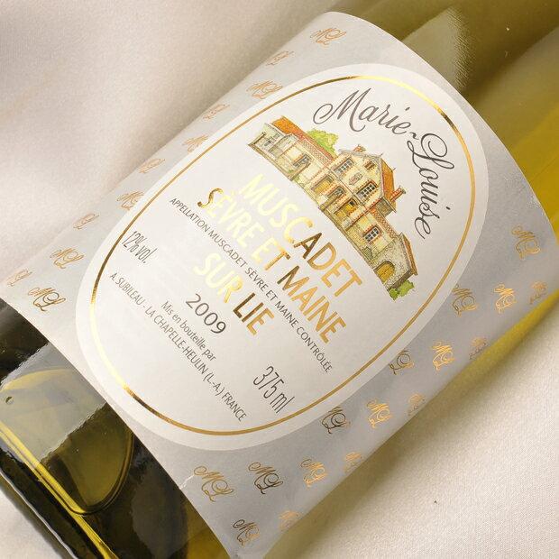 白ワイン ミュスカデ マリー ルイーズ ミュスカデ セーヴル エ メーヌ シュルリー ハーフ AOC(地区)フランス ミュスカデ 白辛口 [W] /白 ワイン WINE 葡萄酒
