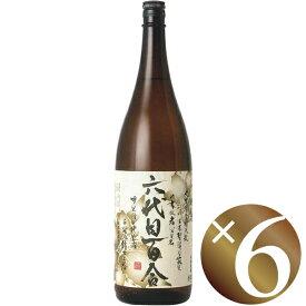 六代目百合 25度/塩田酒造株式会社 1800ml ×6本(芋焼酎)(※同梱不可)