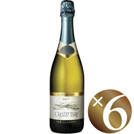【まとめ買い】オイスターベイ スパークリング キュヴェ・ブリュット/デリゲッツ・ワイン・エステート (スパークリングワイン)750ml×6本