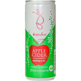 バロークス 缶 スパークリング シードル 250ml (スパークリングワイン)【まとめ買い】(ギフト対応不可)