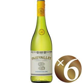 フェアヴァレー シュナン・ブラン/ザ・フェア・ヴァレー・ワインカンパニー 750ml×6本 (白ワイン)