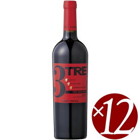 【22日はポイント5倍】トレ・グラッポリ コンティ・ゼッカ/コンティ・ゼッカ 750ml×12本 (赤ワイン)