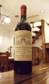シャトー ラ ラギューヌ[1978]Chateau La Lagune 多少ラベル汚れ