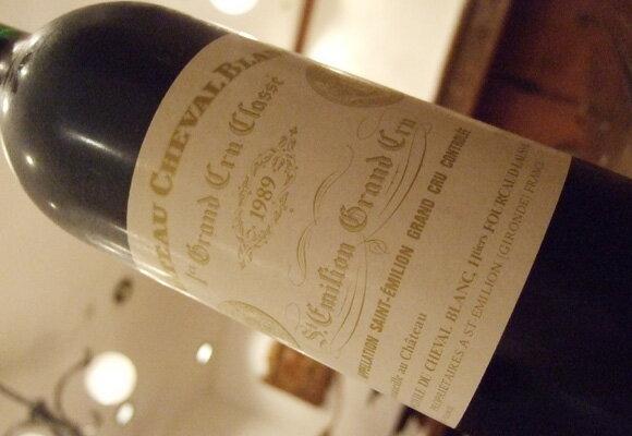 シャトー・シュヴァル・ブランChateau・Cheval・Blanc1982・1986・1988・1989限定1セット