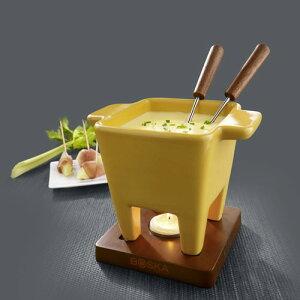 チーズパーティフォンデュセット ミニ イエローCheese Party Fondue Set Mini Yellow