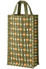 麻ワインバッグ2本用 グリーン 10個セット