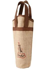 麻ワインバッグ1本用 ワンポイント 10個セット
