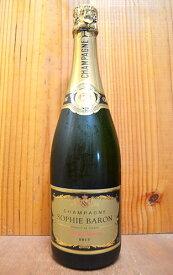 """【6本以上ご購入で送料・代引無料】ソフィー バロン シャンパーニュ""""グラン レゼルヴ""""ブリュット (シャルリー シュール マルヌ) AOCシャンパーニュ (バロン家)Sophie Baron Champagne """"Grande Reserve"""" Brut (Charly Sur Marne) Baron Fuente Family AOC Champagne"""
