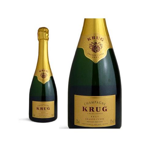 クリュッグ グラン キュヴェ 白 泡 正規 箱なし ハーフ 375ml シャンパン シャンパーニュChampagne KRUG Grand Cuvee Brut Half Size