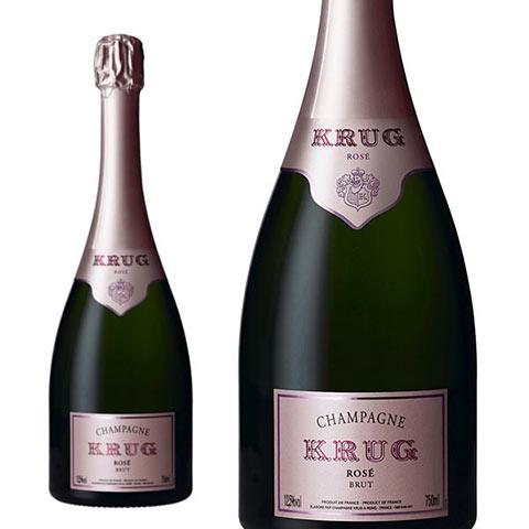 クリュッグ ロゼ 正規 箱なし ハーフ 375ml シャンパン シャンパーニュ・セレブ御用達!あの!マドンナも愛飲する高級ロゼ・シャンパーニュKrug Champagne Rose Brut Half Size
