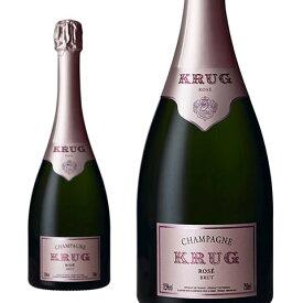 クリュッグ ロゼ 正規 箱なし 750ml シャンパン シャンパーニュ・セレブ御用達!あの!マドンナも愛飲する高級ロゼ・シャンパーニュKrug Champagne Rose Brut