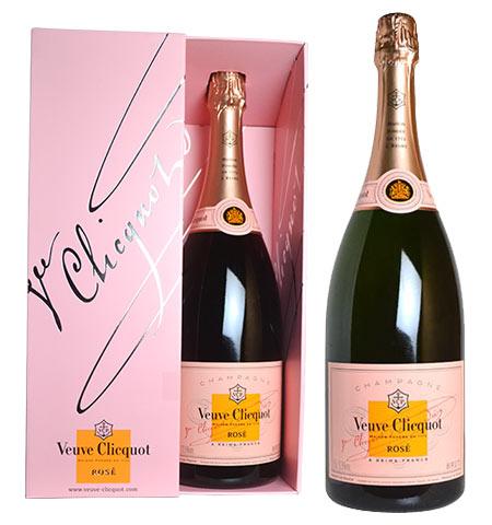 ヴーヴ クリコ ローズラベル ポンサルダン ブリュット ロゼ N.V 正規 箱付 マグナム 1500ml シャンパン シャンパーニュ (ヴーヴ・クリコ) (ヴーヴクリコ) (ブーブクリコ)Veuve Clicquot Champagne Ponsardin Rose Label M.G AOC Rose Champagne
