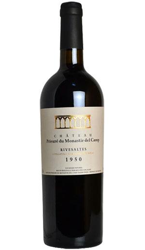 リヴザルト 1950 シャトー プリウール デュ モナスティール デル カンプ 赤ワイン 辛口 フルボディ 750ml フランスRivesaltes [1950] Chateau Prieure du Monastir del Camp AOC Rivesaltes