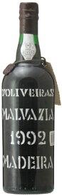マディラ ペレイラ ドリヴェイラ マルヴァジア[1992]年 (平成4年)Madeira Pereira D'Oliveira Malvasia [1992]