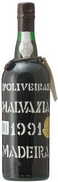 マディラ・ペレイラ・ドリヴェイラ・マルヴァジア[1991]年・(平成3年)Madeira Pereira D'Oliveira Malvasia [1991]