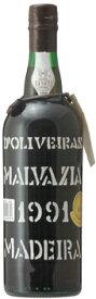 マディラ ペレイラ ドリヴェイラ マルヴァジア[1991]年 (平成3年)Madeira Pereira D'Oliveira Malvasia [1991]